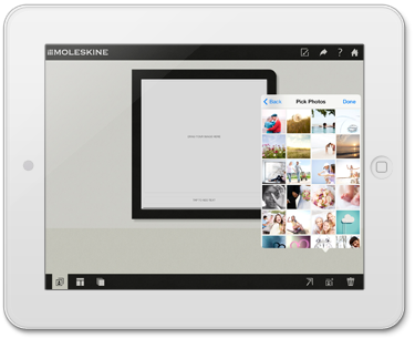 Moleskine Photo Books App