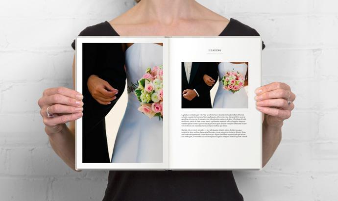 Custom Wedding Photo Books