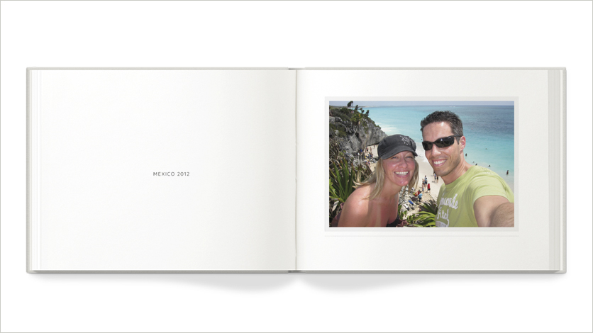 9x7 holiday photo book